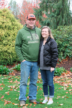 Third-generation nursery owners Mike and Lori Hanson took over Schiedel Nursery in 2007 from Lori's parents, Gene and Sue Schiedel. The Hansons have ambitious plans for growth.