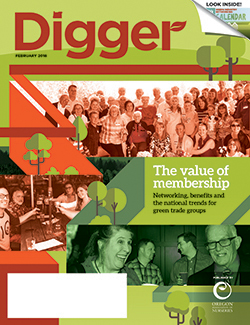 February 2018 Digger cover
