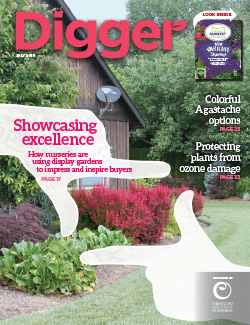 Display gardens July cover