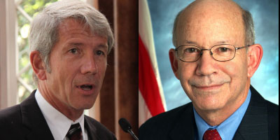 U.S. Rep. Kurt Schrader and U.S. Rep. Peter DeFazio