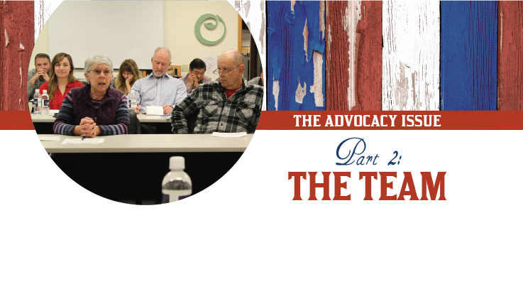 The Advocacy Issue, Part 2: The team