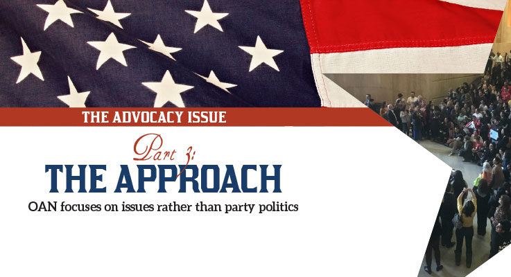The Advocacy Issue, Part 3: The approach
