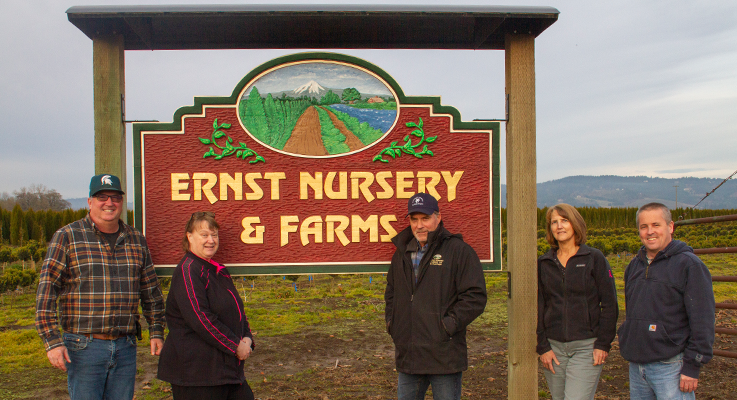 Ernst Nursery & Farms LLC